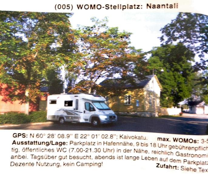 womo Stellplatz