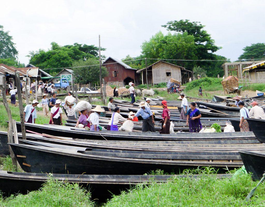 Myanmar - Inle See - Markt