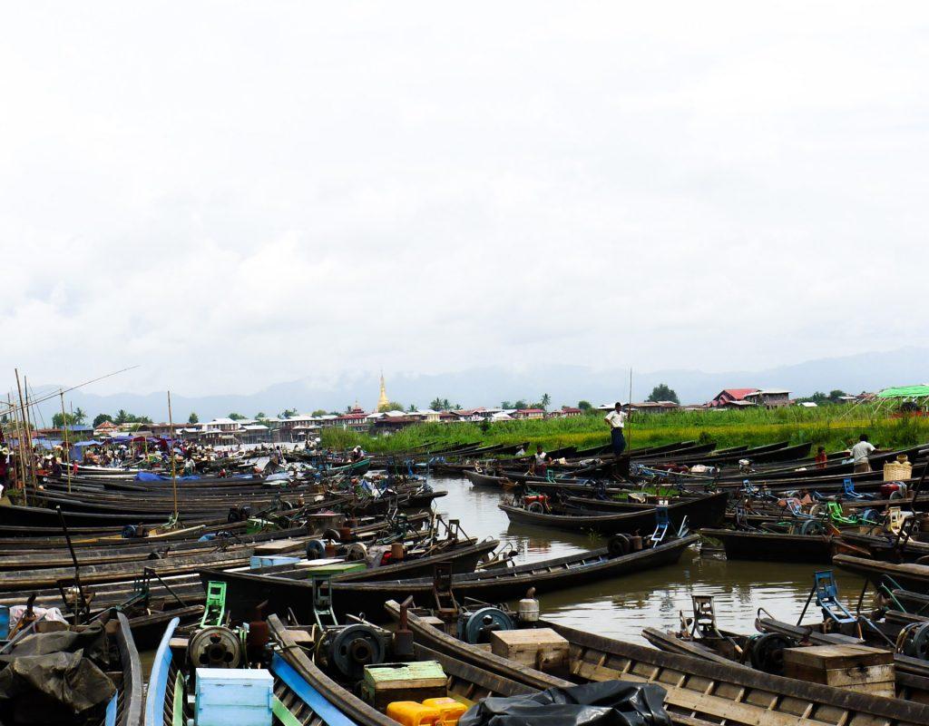 Myanmar - Inle See - Markt 2