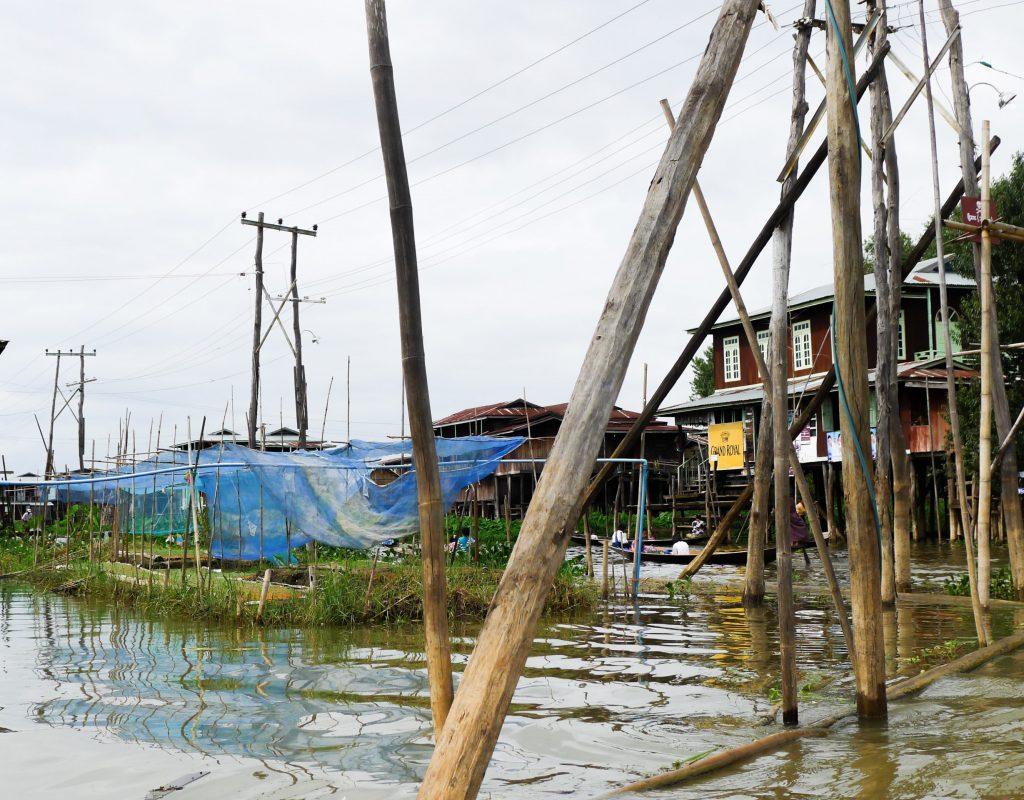 Myanmar - Inle See - schwimmende Gärten