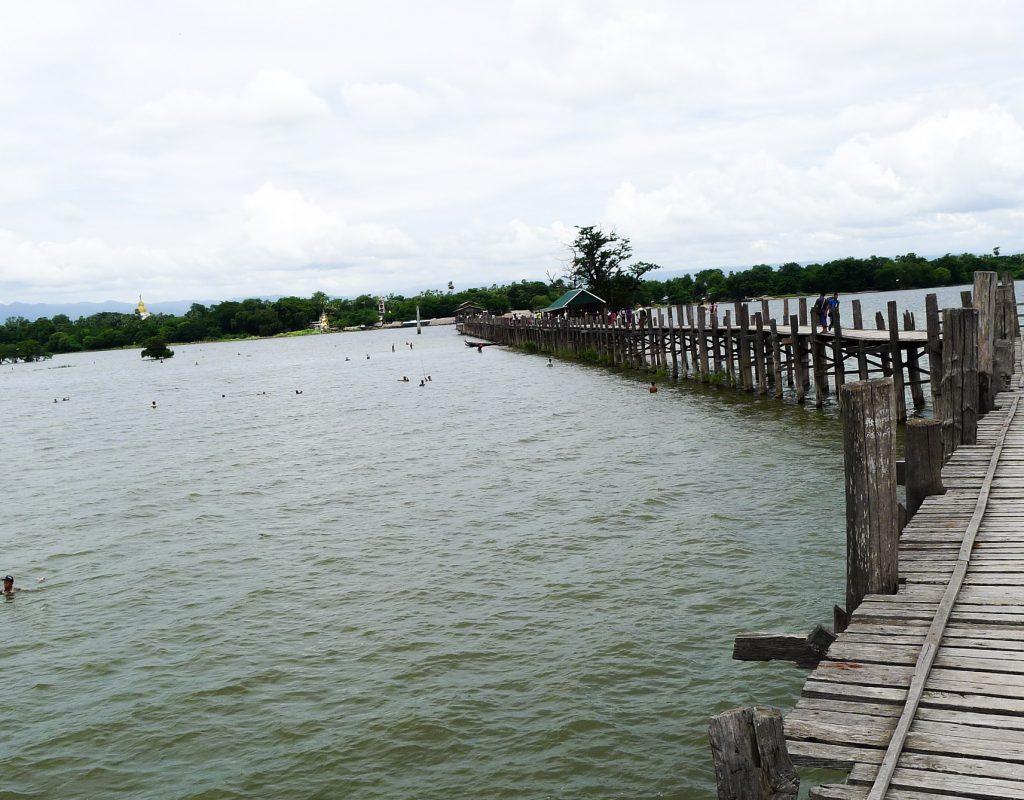 Myanmar - Mandalay - Teak Brücke 1