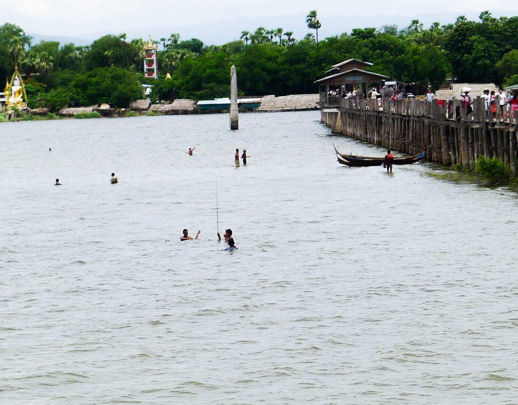 Myanmar - Mandalay - Teak Brücke 2