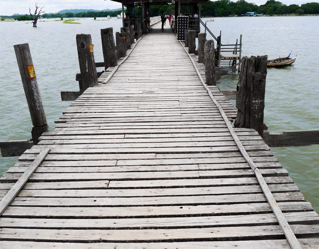 Myanmar - Mandalay - Teak Brücke 3