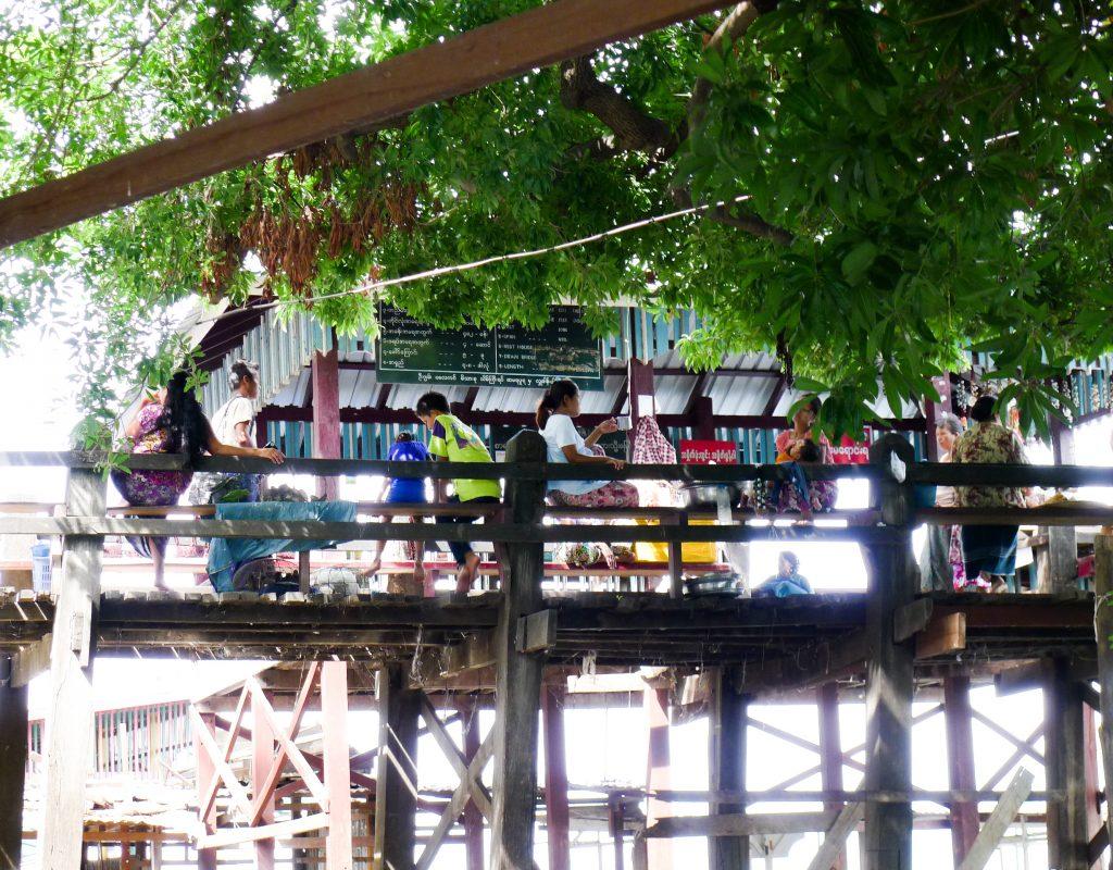 Myanmar - Mandalay - Teak Brücke 4
