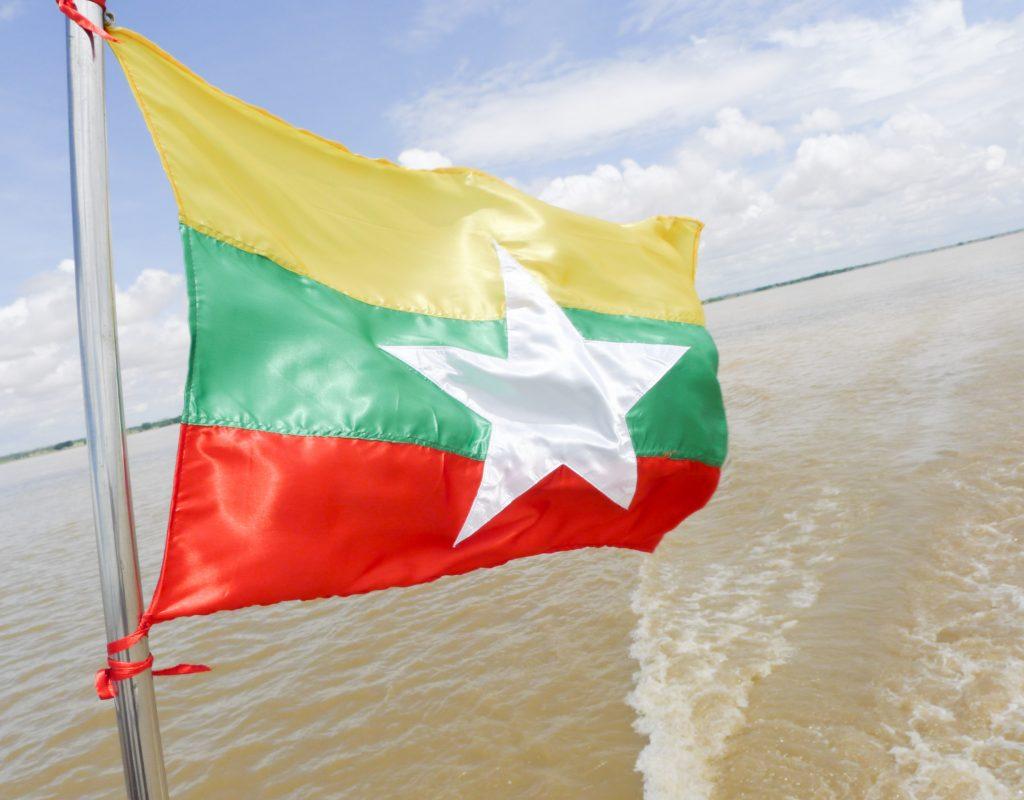 Myanmar - Bootsfahrt nach Bagan