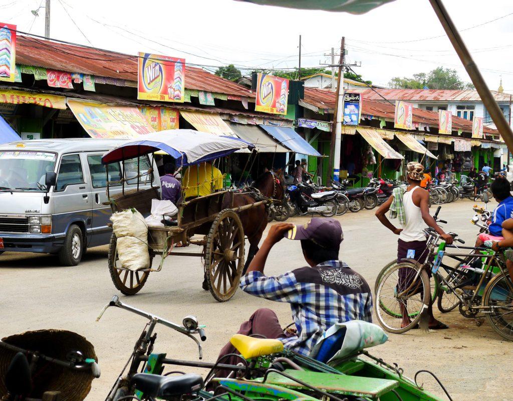 Myanmar - Fahrt zum Inle See